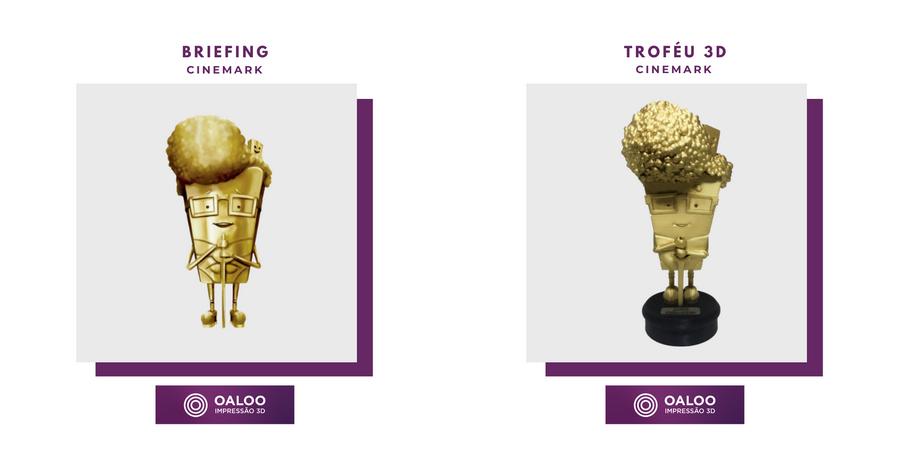 Troféus Personalizados Cinemark